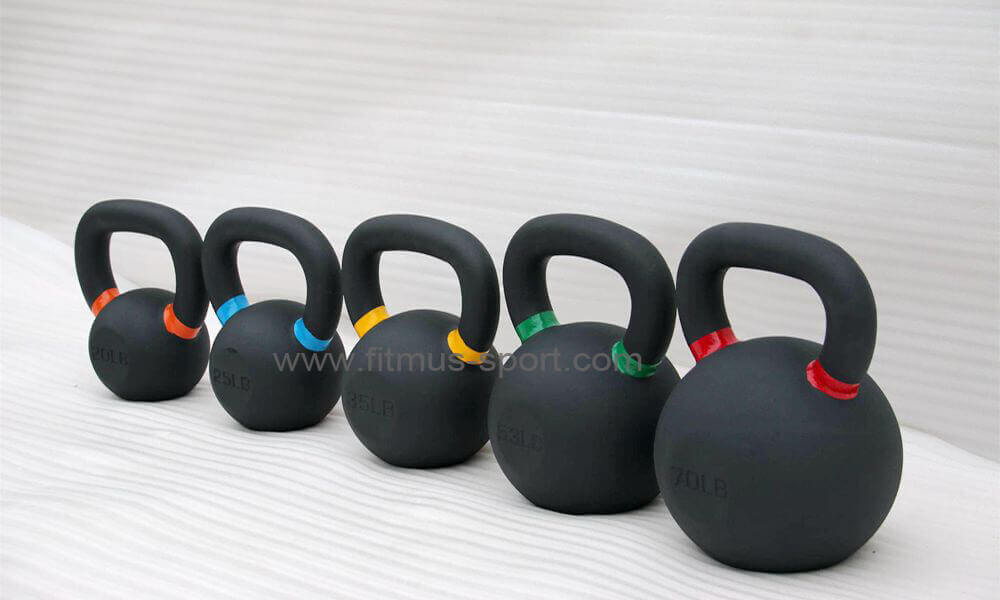 powder coat Iron crossfit kettlebell