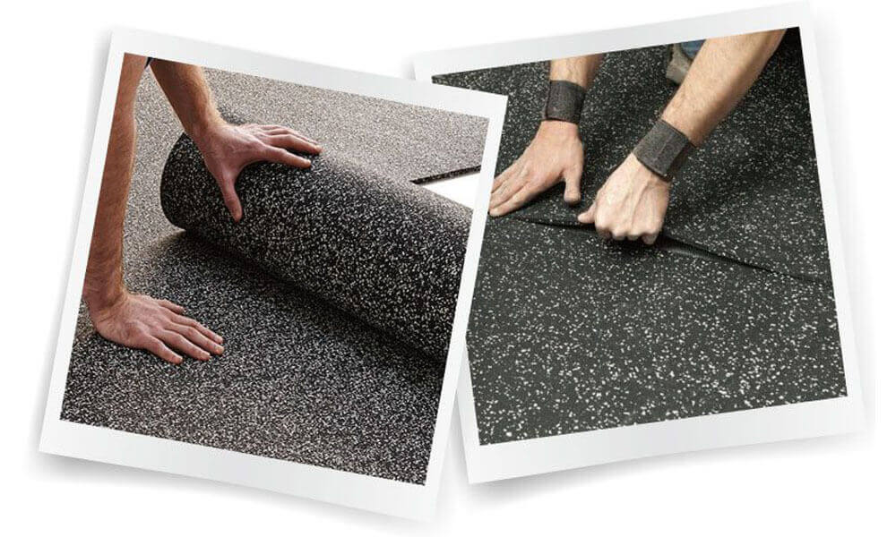 How To Install Rubber Mat Flooring
