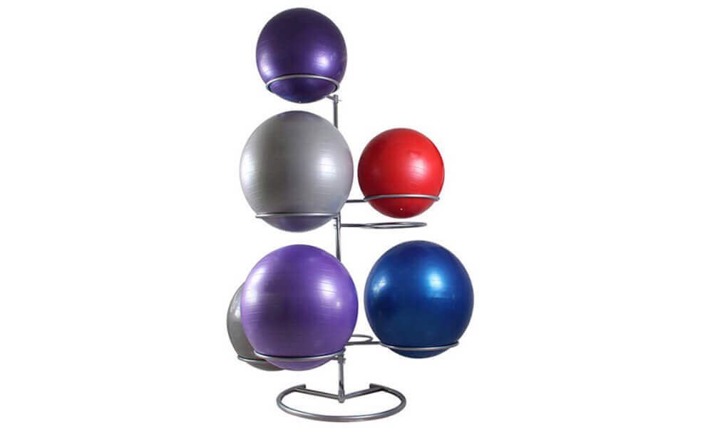 Gym Ball Storage Stand Rack (1)