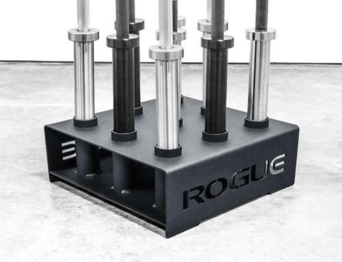 Vertical Barbell Storage Rack- 9 Barbell Holder