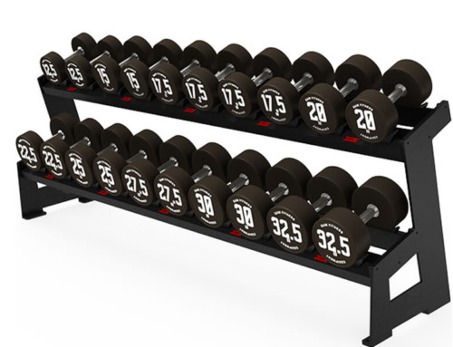 DUMBBELL RACK – ROUND TWO LAYER 10 PAIRS