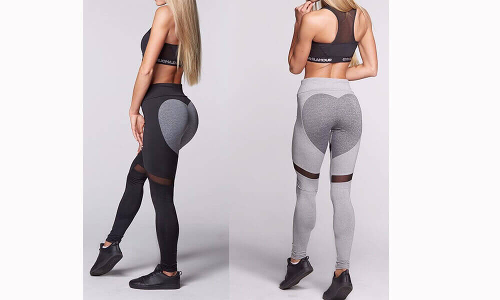 Compression yoga tights custom fitness gym leggings for women (1)