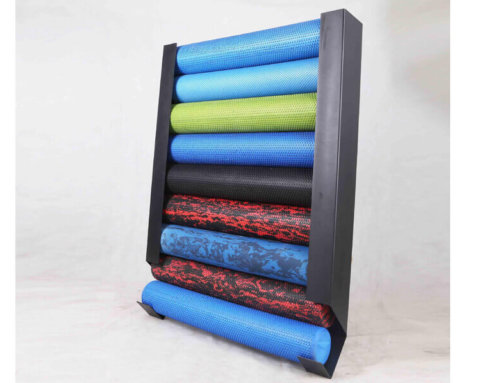 Foam Roller Storage Rack Wall Mount