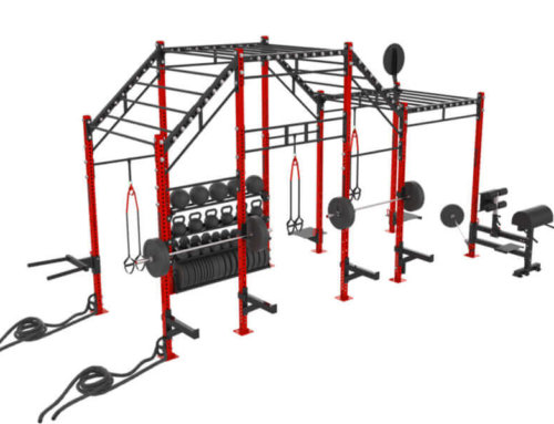 20′ Crossfit Monkey Bar Rig Jungle Rig