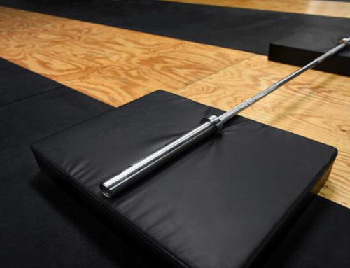 Weightlifting Drop Pads